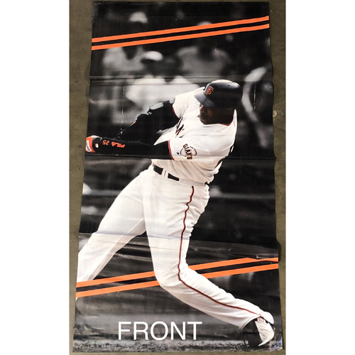 Photo of San Francisco Giants - 2018 Street Banner - 60th Anniversary - Barry Bonds