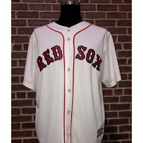 Photo of Red Sox Foundation Game Day - Steve Pearce Team-Issued and Autographed Jersey
