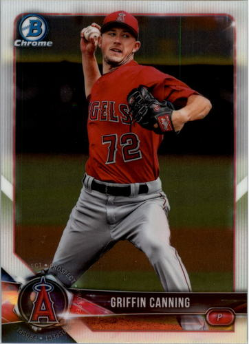 Photo of 2018 Bowman Chrome Draft #BDC197 Griffin Canning