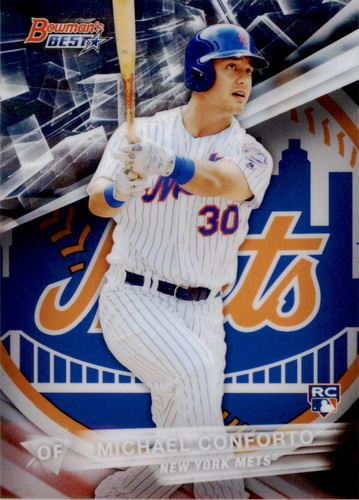 Photo of 2016 Bowman's Best #4 Michael Conforto Rookie Card