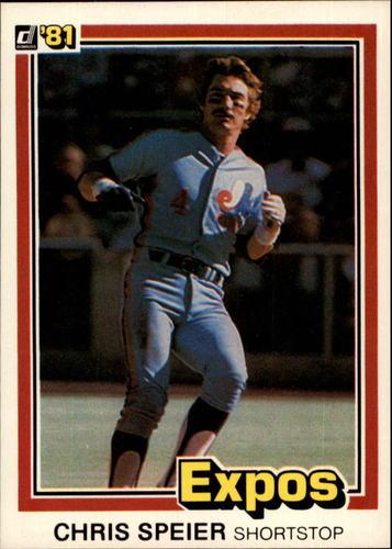Photo of 1981 Donruss #329 Chris Speier
