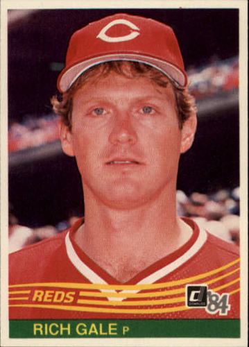 Photo of 1984 Donruss #140 Rich Gale