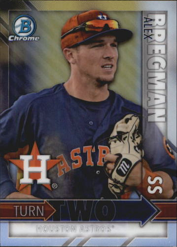 Photo of 2016 Bowman Chrome Turn Two #TTBC Alex Bregman/Daz Cameron
