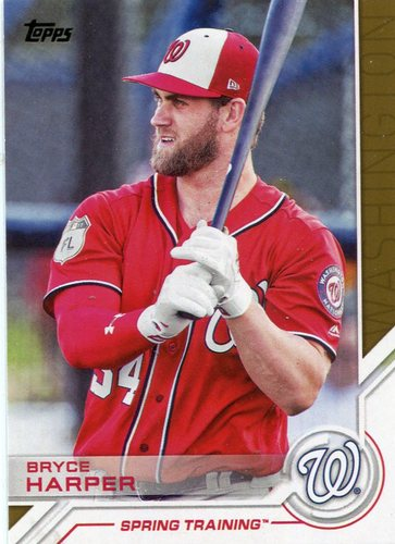 Photo of 2017 Topps Salute #S110 Bryce Harper