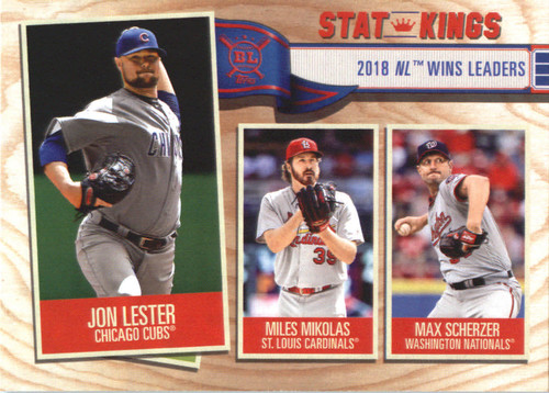 Photo of 2019 Topps Big League #364 Max Scherzer/Miles Mikolas/Jon Lester