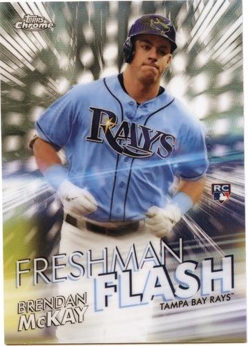 Photo of 2020 Topps Chrome Freshman Flash #FF6 Brendan McKay