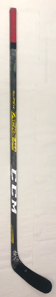 #23 Brock McGinn Game Used Stick - Autographed - Carolina Hurricanes