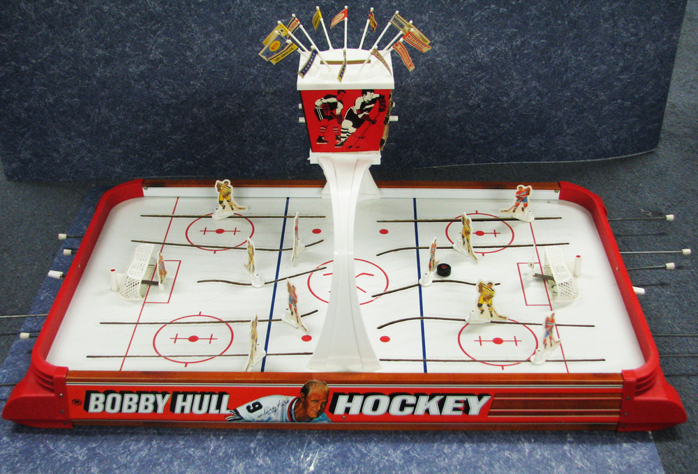 Bobby Hull Hockey Gold Cup Series Vintage Table Top Hockey