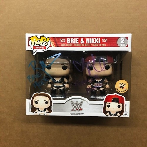 Photo of Bella Twins SIGNED POP! Vinyl Figure 2-Pack