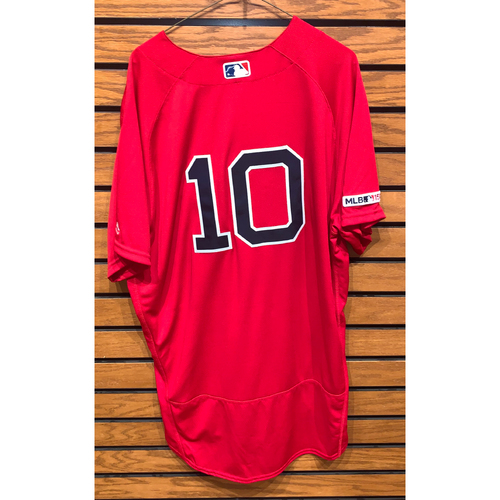 Photo of David Price Team Issued 2017 Home Alternate Jersey