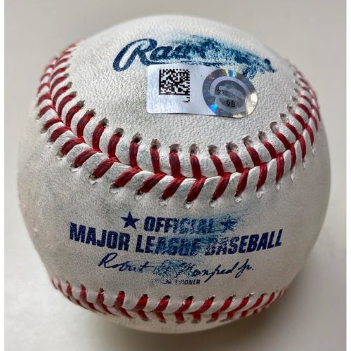 Photo of Game-Used Baseball:  Tarik Skubal Detroit Tigers Strikeout (MLB AUTHENTICATED)
