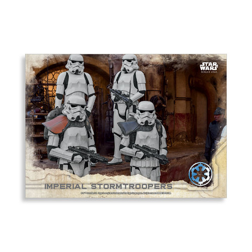 Imperial Stormtroopers 2016 Star Wars Rogue One Series One Base Poster - # to 99