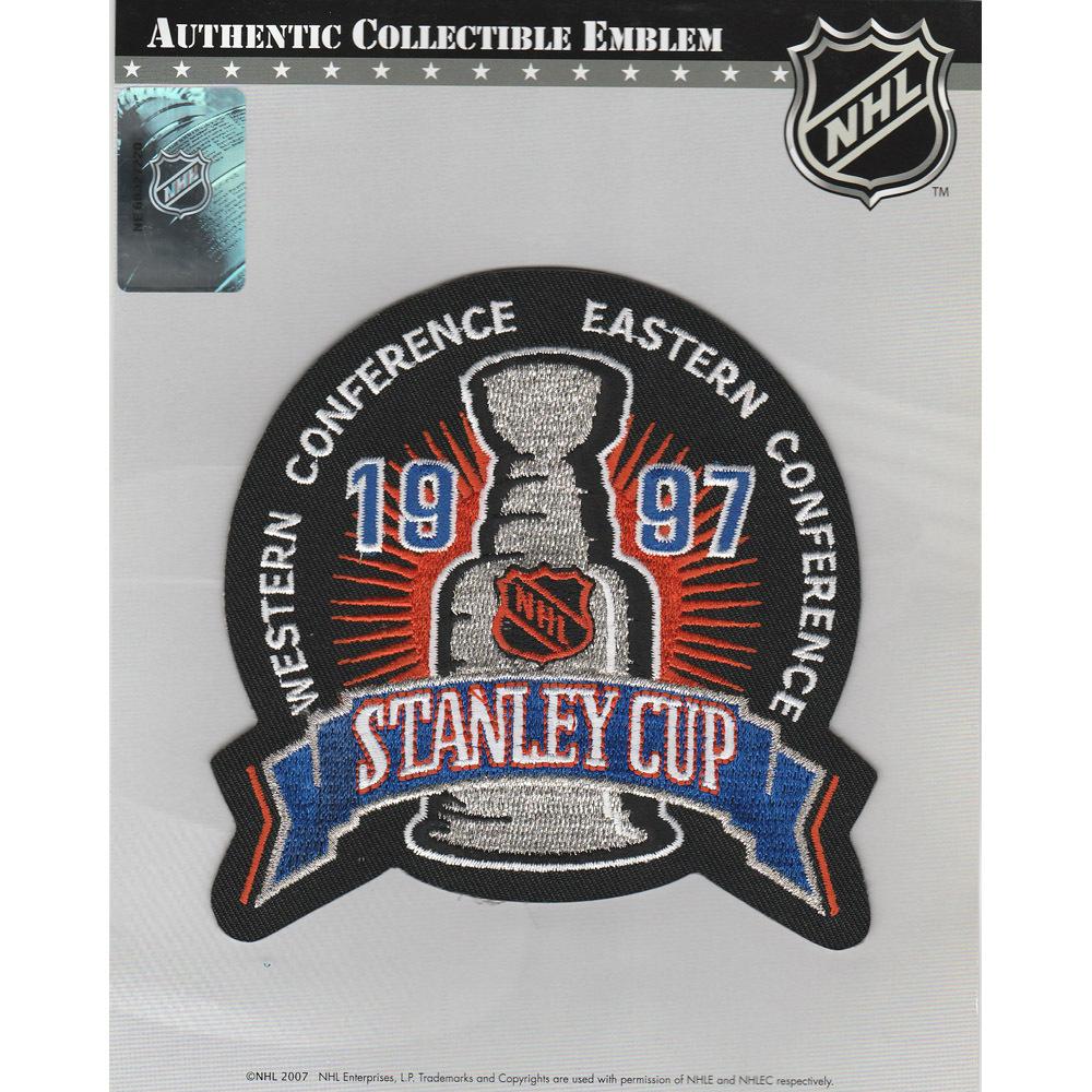 1997 NHL Stanley Cup Final Jersey Patch (Detroit Red Wings vs. Philadelphia Flyers)