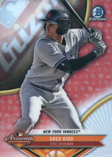 Photo of 2017 Bowman Chrome '16 AFL Fall Stars #AFLGB Greg Bird