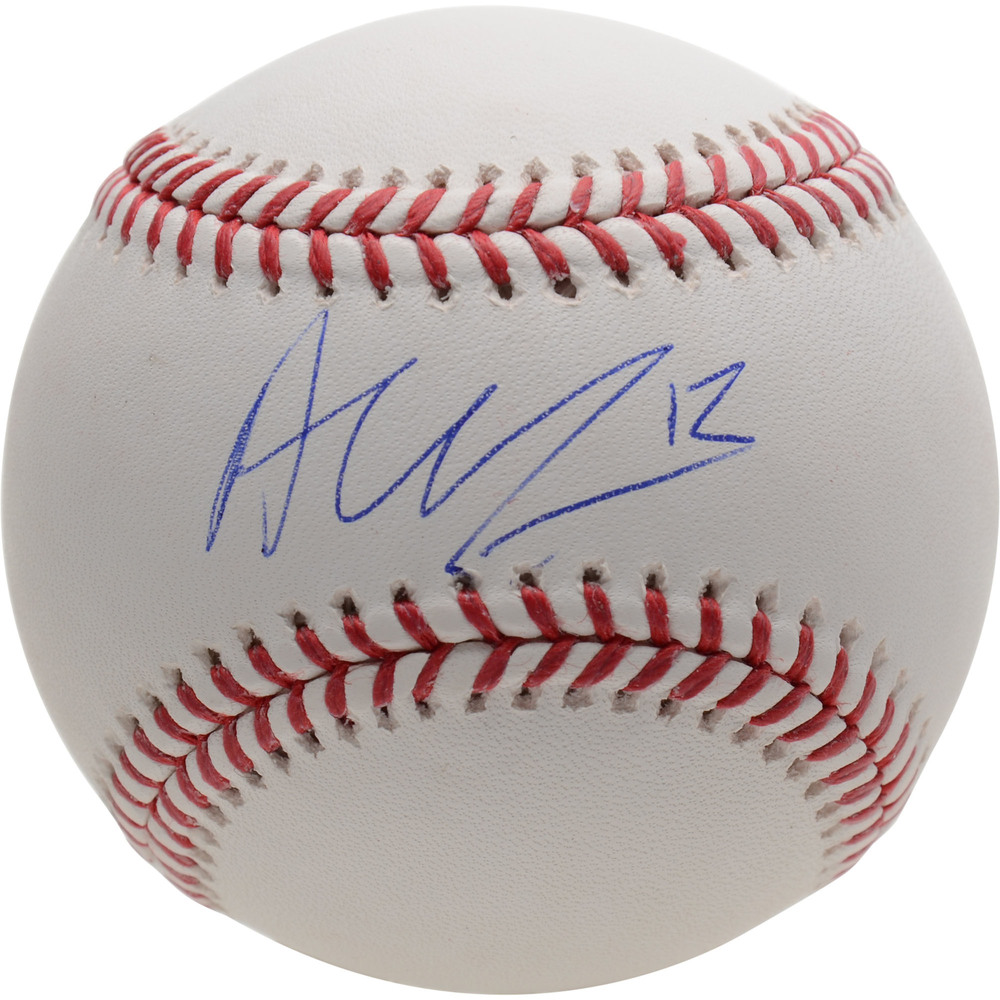 Alex DeBrincat Chicago Blackhawks Autographed Baseball - NHL Auctions Exclusive