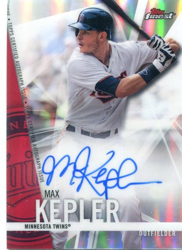 Photo of 2017 Finest Autographs Refractors  Max Kepler