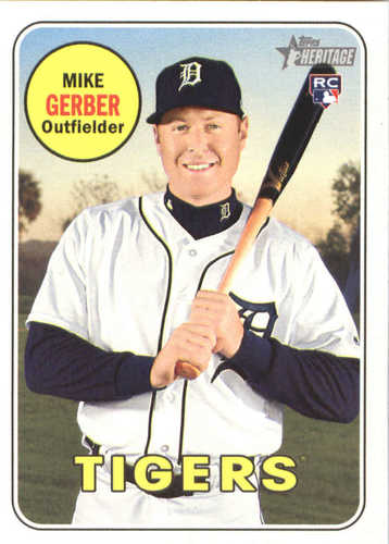 Photo of 2018 Topps Heritage #586 Mike Gerber RC