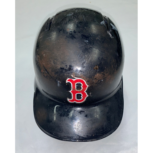 Andrew Benintendi October 23, 2018 Game Used World Series Game 1 Batting Helmet