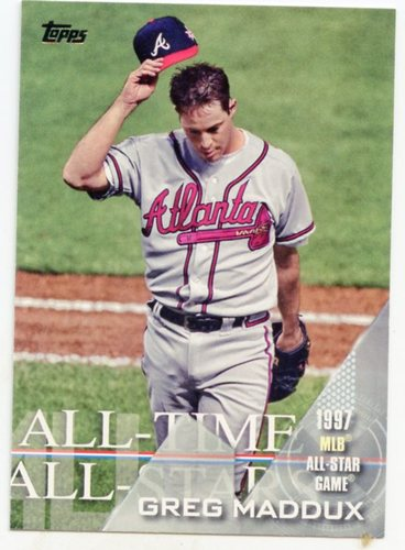 Photo of 2017 Topps All Time All Stars #ATAS37 Greg Maddux