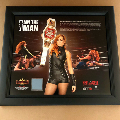Becky Lynch Longest Reigning RAW Women's Champion Plaque (#1 of 398)