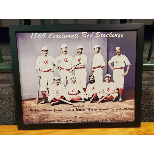 Photo of 1869 Red Stockings Team Frame