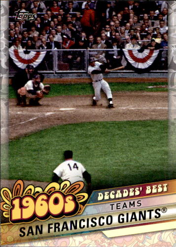 Photo of 2020 Topps Decades' Best #DB23 San Francisco Giants