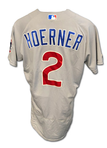 Photo of Nico Hoerner Team-Issued Jersey -- 2020 Season -- Size 44