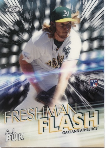 Photo of 2020 Topps Chrome Freshman Flash #FF9 A.J. Puk