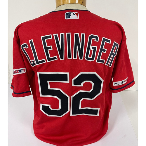 Photo of Mike Clevinger Game Used-Jersey - 9/19/2019 - Used During 1st Inning