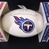 Titans - Jurrell Casey Signed Panel Ball w/ Titans Logo