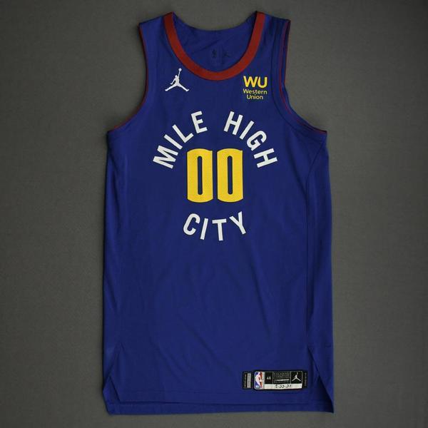 Image of Markus Howard - Denver Nuggets - Game-Worn Statement Edition Jersey - 2021 NBA Playoffs