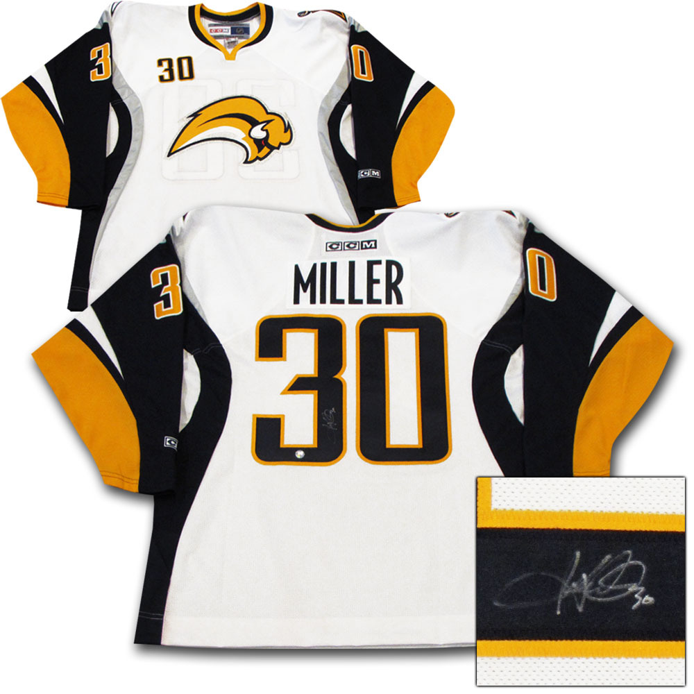Ryan Miller Autographed Buffalo Sabres Jersey - NHL Auctions e267483a335