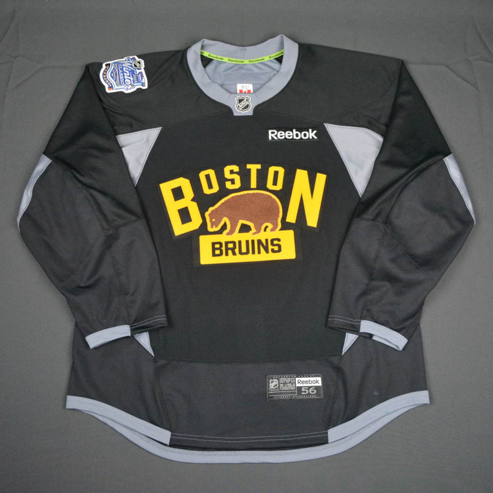 4ac9ca14d2c Seth Griffith - Boston Bruins - 2016 NHL Winter Classic - Practice-Worn  Jersey