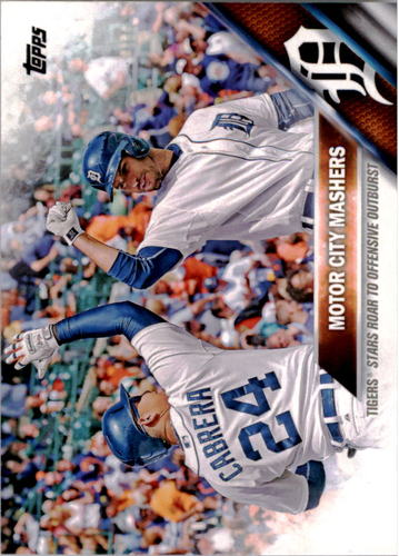 Photo of 2016 Topps #94 Miguel Cabrera