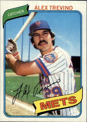 Photo of 1980 Topps #537 Alex Trevino RC