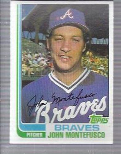 Photo of 1982 Topps #697 John Montefusco