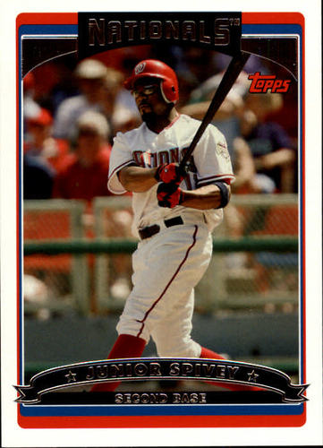 Photo of 2006 Topps #103 Junior Spivey