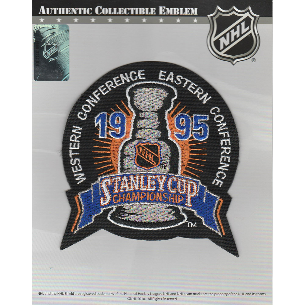 1995 NHL Stanley Cup Final Jersey Patch (New Jersey Devils vs. Detroit Red Wings)