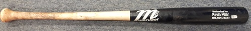 Photo of Authenticated Team Issued Broken Bat - #11 Kevin Pillar