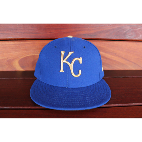 Game-Used Cap: Jorge Bonifacio (Size 7 1/4 - ARI at KC - 9/29/17)