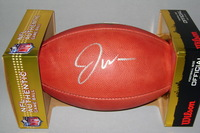 NFL - 49ERS JOE WILLIAMS SIGNED AUTHENTIC FOOTBALL