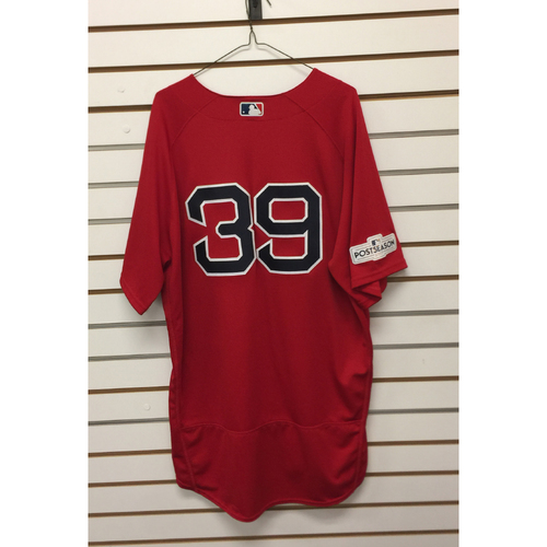 Photo of Carson Smith Game-Used September 29,2017 Home Alternate Jersey