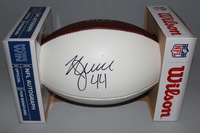 NFL -49ERS KYLE JUSZCZYK SIGNED PANEL BALL