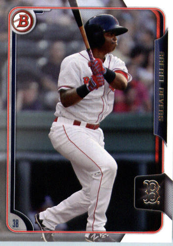 Photo of 2015 Bowman Draft #106 Rafael Devers