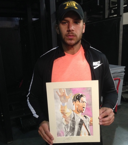 Fandango Signed Painting by Rob Schamberger