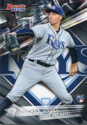 Photo of 2016 Bowman's Best #14 Blake Snell Rookie Card