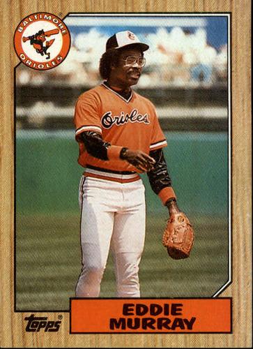 Photo of 1987 Topps #120 Eddie Murray