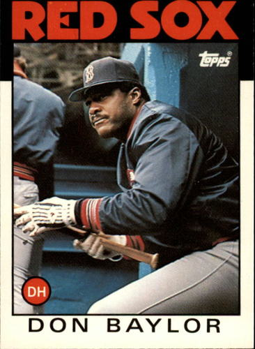 Photo of 1986 Topps Traded #6T Don Baylor