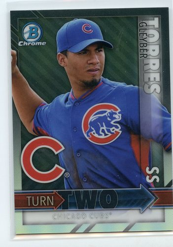 Photo of 2016 Bowman Chrome Turn Two #TTTM Gleyber Torres/Billy McKinney
