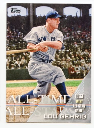 Photo of 2017 Topps All Time All Stars #ATAS39 Lou Gehrig
